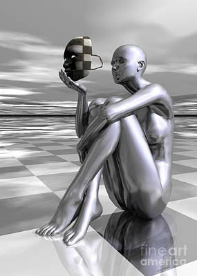 Digital Art - Identity by Sandra Bauser Digital Art