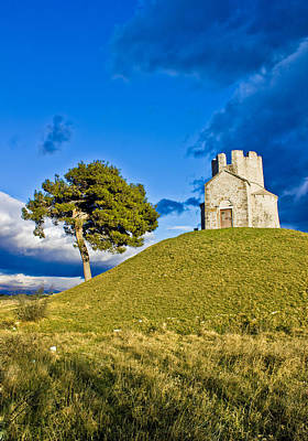 Photograph - Idyllic Chapel On The Green Hill by Brch Photography