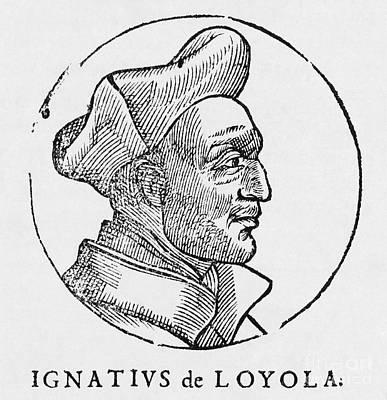 Ignatius Of Loyola, Founder Of Jesuits Art Print