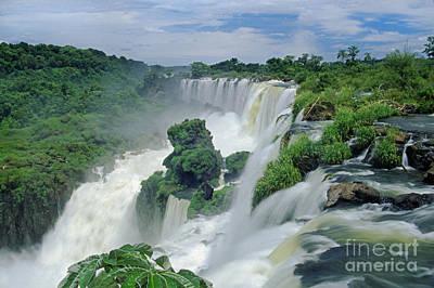 Iguazu Falls Argentina Art Print