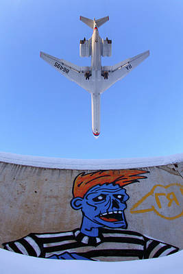 Photograph - Il-62m Airliner Of The Russian Air by Artyom Anikeev