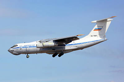 Ilyushin Photograph - Il-76md Transport Aircraft by Artyom Anikeev
