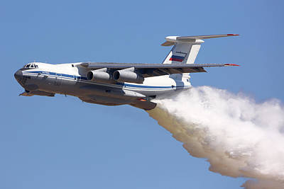 Ilyushin Photograph - Il-76md Transport Aircraft Of Russian by Artyom Anikeev