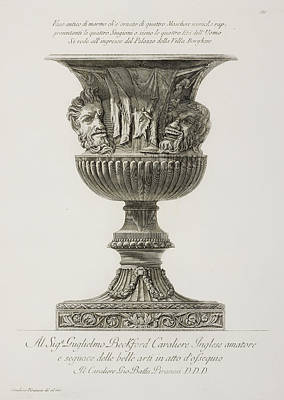 Cavs Photograph - Illustration Of Classical Urn by British Library
