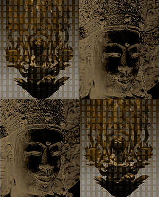 Digital Art - Image Of Buddha1 by Yoko Nakai