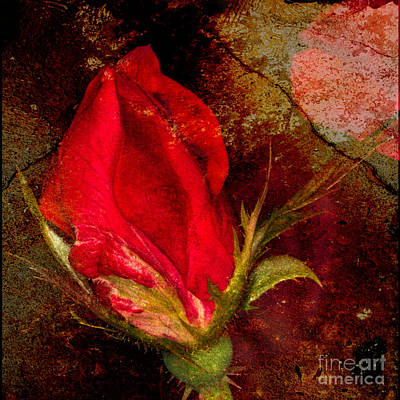 Impressionistic Rose Art Print