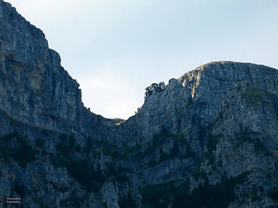Photograph - Impressive Mountain by Alexandros Daskalakis