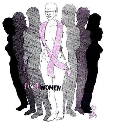 1 In 8 Women Art Print