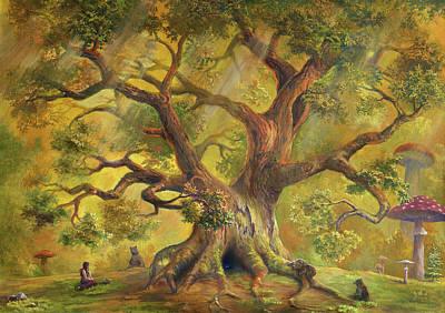 Digital Art - In Fairy Forest by Pobytov