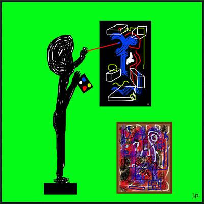 In His Elements Art Print by Sir Josef - Social Critic - ART