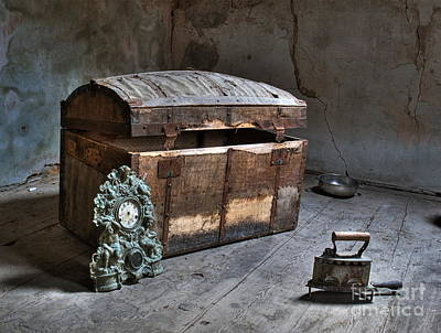 Treasure Box Photograph - In The Attic by Sinisa Botas