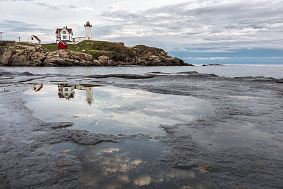 Nubble Photograph - In The Beginning by Jon Glaser