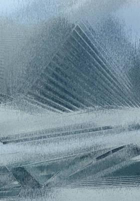 Process Digital Art - In The Mist by Jack Zulli