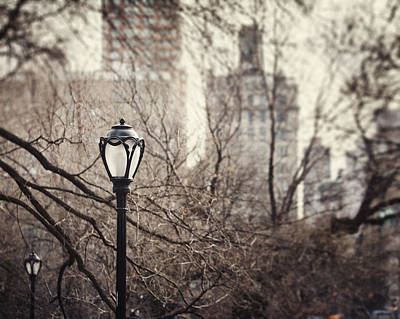 In The Shadow Of The Upper East Side  Art Print by Lisa Russo