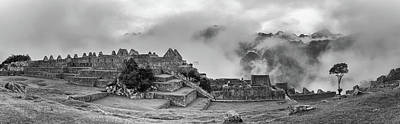 Inca City Of Machu Picchu, Urubamba Art Print
