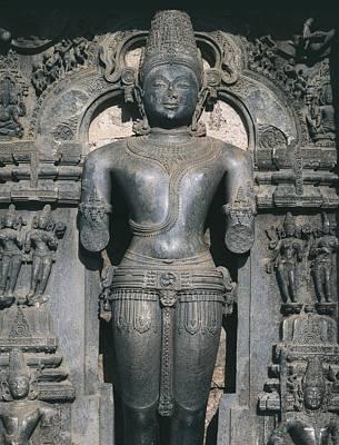 Hindu Goddess Photograph - India. Konarak. Sun Temple. Built by Everett