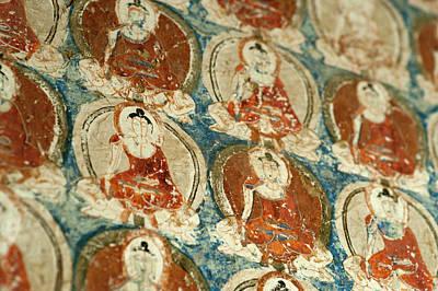 India, Ladakh, Alchi, Buddhist Wall Art Print