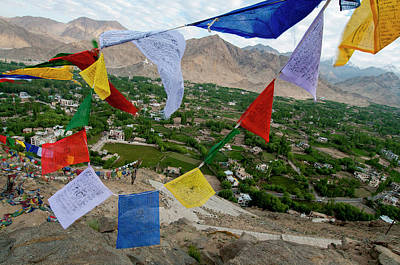 India, Ladakh, Leh, Capital Of Ladakh Art Print