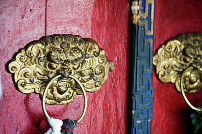 India, Ladakh, Likir, Close-up Art Print by Anthony Asael