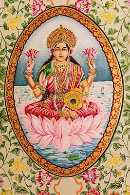 Lakshmi Photograph - India, Rajasthan, Bikaner, Karni Mata by Alida Latham