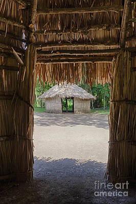 Photograph - Indigenous Tribe Huts In Puer by Bryan Mullennix