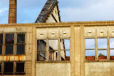 Photograph - Industrial Building by Nick  Biemans