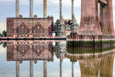 Photograph - Industrial by JC Findley