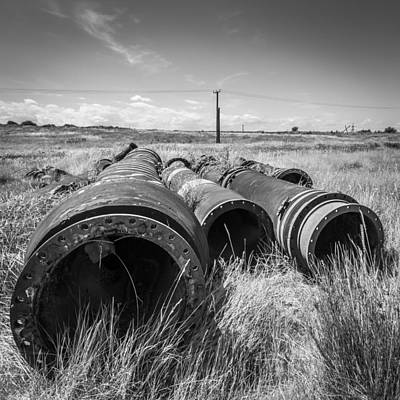 Photograph - Industrial Landscape by Gary Gillette