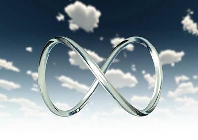 Infinity Loop Art Print by Tim Vernon