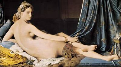 Odalisque Photograph - Ingres, Jean-auguste-dominique by Everett