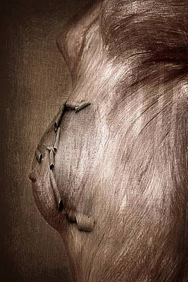 Mural Mixed Media - Injured by Heike Hultsch