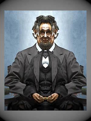 Digital Art - Inner Lincoln by Zac AlleyWalker Lowing