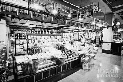 inside lonsdale quay market shopping mall north Vancouver BC Canada Art Print by Joe Fox