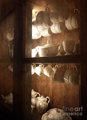 Photograph - Inside The Cabinet by Sally Simon