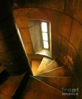 Sacre Coeur Photograph - Inside The Sacre Coeur Basilica by John Malone