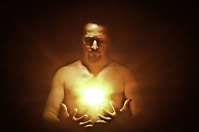 Spritual Light Photograph - Inspiration by Mark Rodriguez aka Godriguez