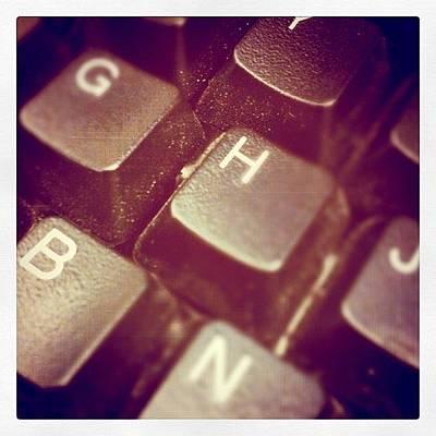 Typewriter Photograph - Instagram Photo by Nick Stone