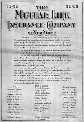 Painting - Insurance Advertisement by Granger