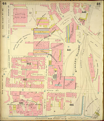 Insurance Plan Of Bristol Art Print by British Library