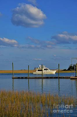 Photograph - Inter Coastal Boat Ride by Bob Sample