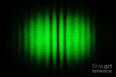 Interference Between Two Laser Beams Print by GIPhotoStock