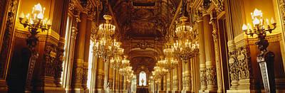 Interior Of A Palace, Chateau De Art Print