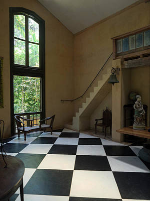 Southern Province Photograph - Interior Of Main House At Lunuganga by Panoramic Images
