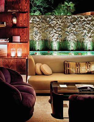Interior Of Modern Living Room Art Print by Scott Frances