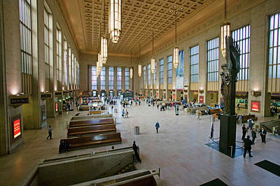 Interior Scene Photograph - Interior View Of 30th Street Station by Panoramic Images