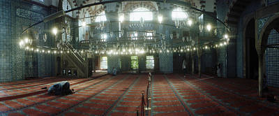 Pasha Photograph - Interiors Of A Mosque, Rustem Pasha by Panoramic Images