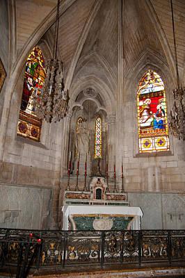 Interiors Of The Church Of St Art Print