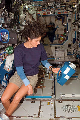 International Space Station Photograph - International Space Station Air Sampling by Nasa