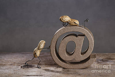 Communication Photograph - Internet by Nailia Schwarz