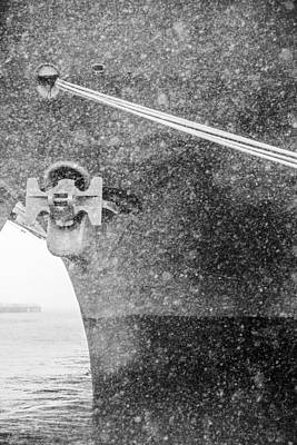 Photograph - Interpid Under Snowfall by Alex Potemkin